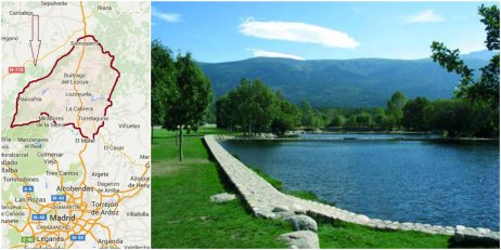 The pools are located in a very nice area, in a pine forest, which is a perfect place to enjoy nature