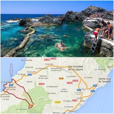 natural swimming pools are like balm for the soul and families benefit from the numerous swimming complexes and beaches in tenerife