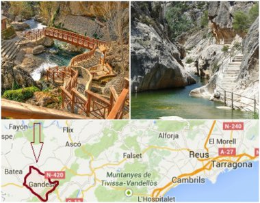 It is hidden within a small valley and making it perfect when looking for good 'days out' from Barcelona.