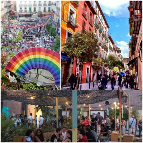 Malasaña is a vibrant neighborhood and a center for the 'hipster' phenomena, full of lively bars and clubs overflowing with young people. Its streets are currently being renovated, making it a much more attractive quarter. It's one of the classic areas for partying the night away.