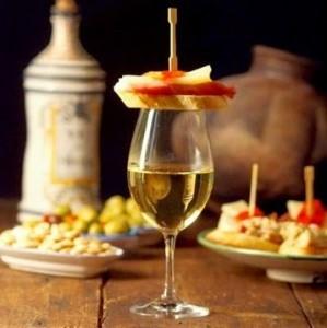 wine with tapas