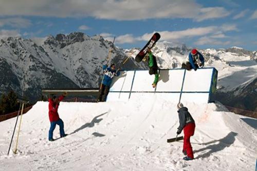cerler snowboarding 1