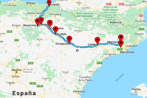 ignaciano route