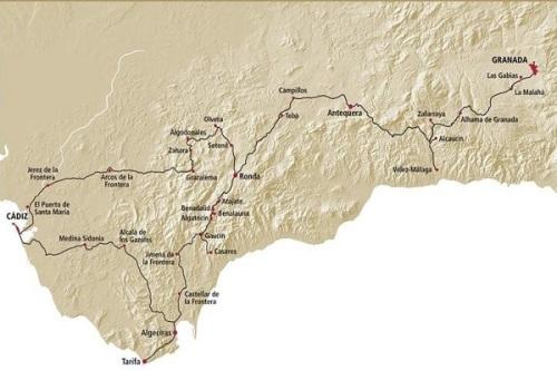 Ruta de los Almoravides y los Almohades