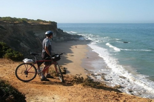 biker in andalucia